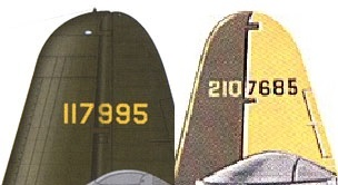 Tail Code 322nd BG