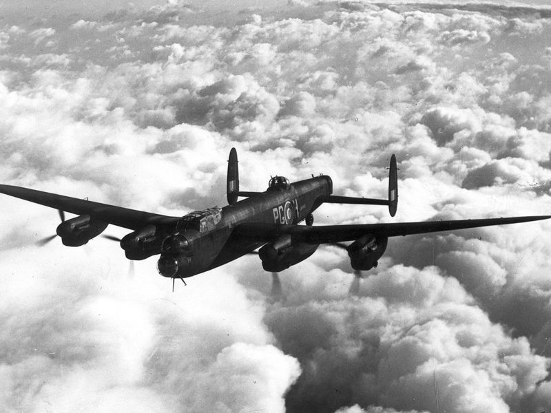 Avro Lancaster B I - Photo du site Wikipedia - raf.mod.uk
