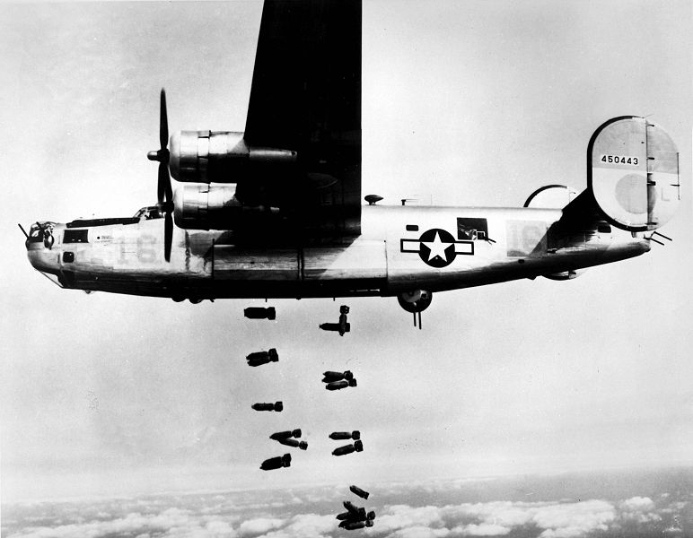 B-24 - Photo du site Wikimedia.org (USAF)