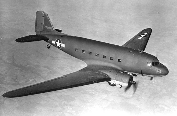 Douglas C-47 - Photo du site avionslegendaires.net