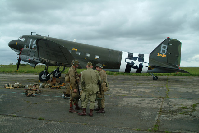 Douglas C-47 - Photo du site geograph.org.uk