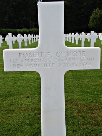 Tombe 1Lt Gilmore