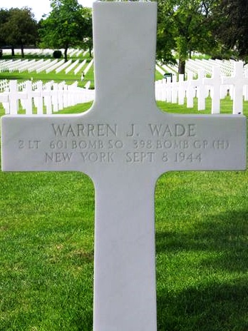 Tombe 2Lt Wade