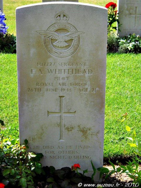 Tombe Sgt Whitehead