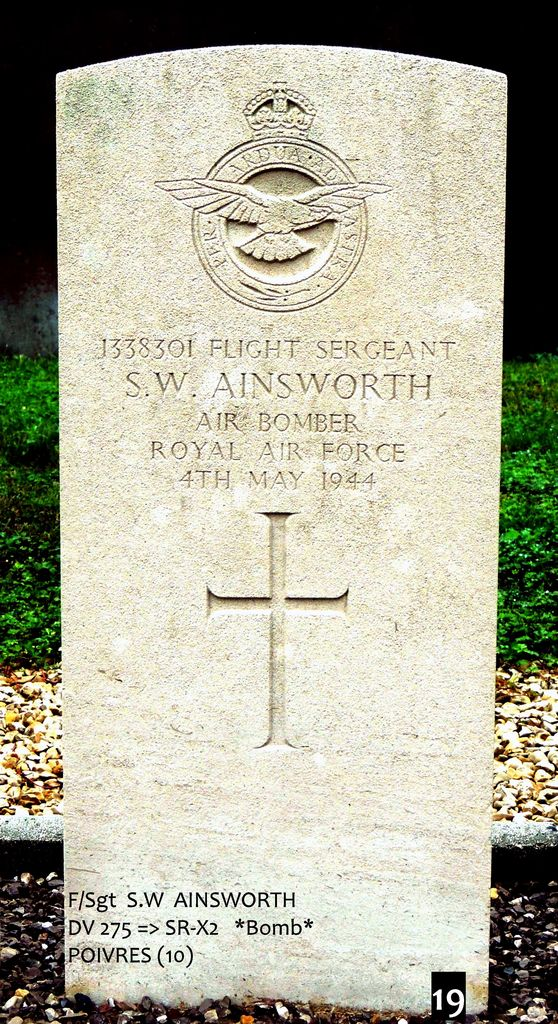 Tombe F/Sgt Ainsworth