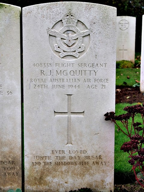 Tombe F/Sgt McQuitty