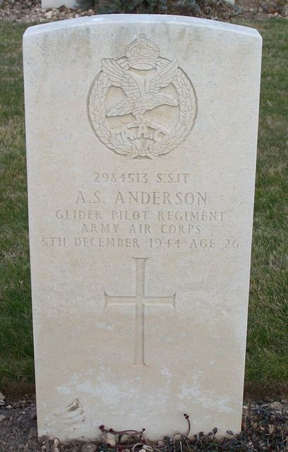 Tombe S/Sgt Anderson