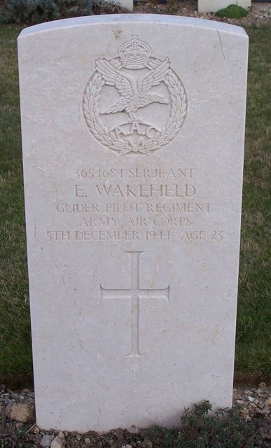 Tombe Sgt Wakefield