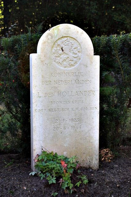 Tombe Cpl den Hollander