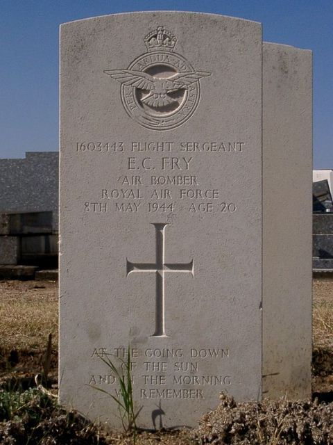 Tombe F/Sgt Fry