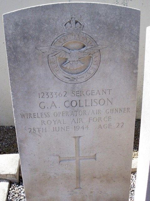 Tombe Sgt Collison