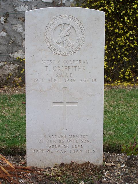Tombe Cpl Griffiths
