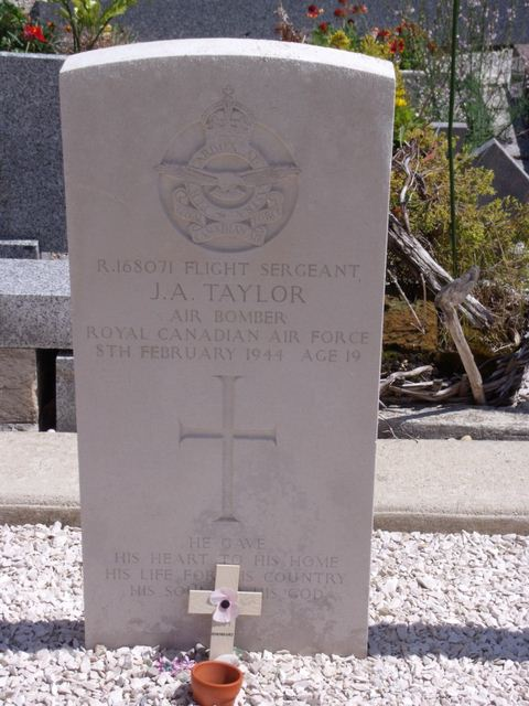 Tombe F/Sgt Taylor