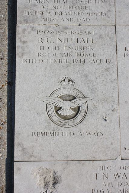 Plaque Sgt Nuttall