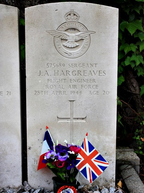 Tombe Sgt Hargreaves