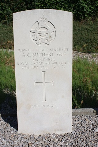 Tombe F/Sgt Sutherland