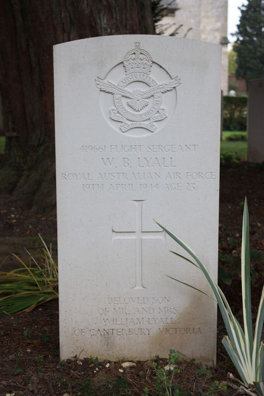 Tombe F/Sgt Lyall