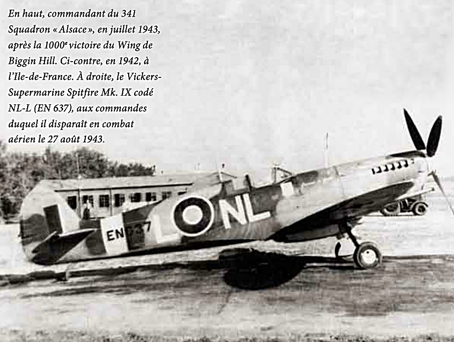 Avion de Cdt Mouchotte