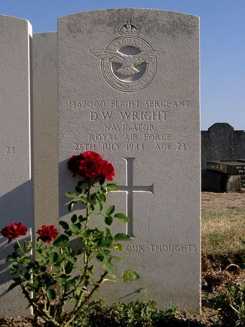 Tombe F/Sgt Wright