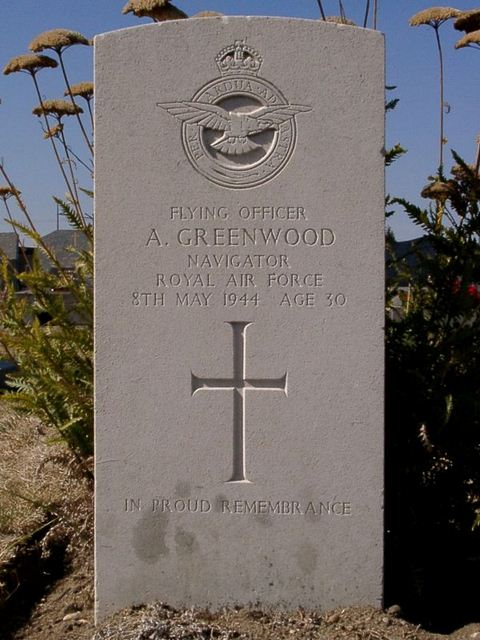 Tombe F/O Greenwood