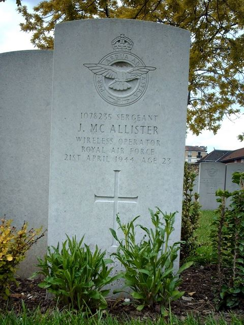 Tombe Sgt McAllister