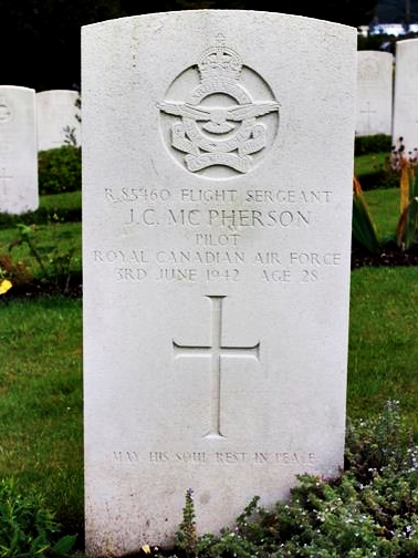 Tombe F/Sgt McPherson