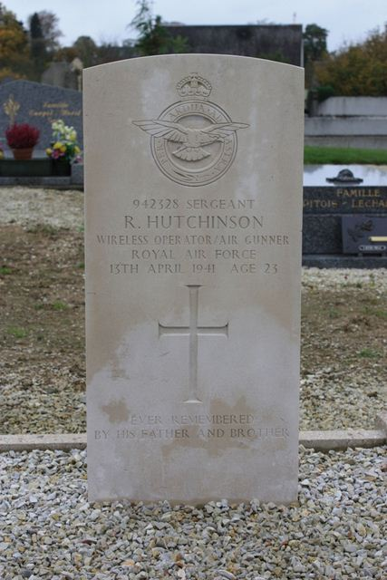 Tombe Sgt Hutchinson