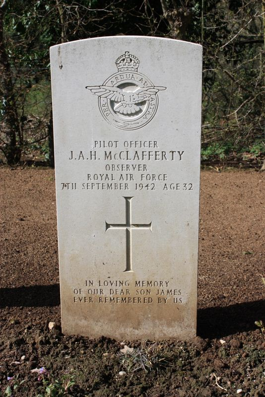 Tombe P/O McClafferty